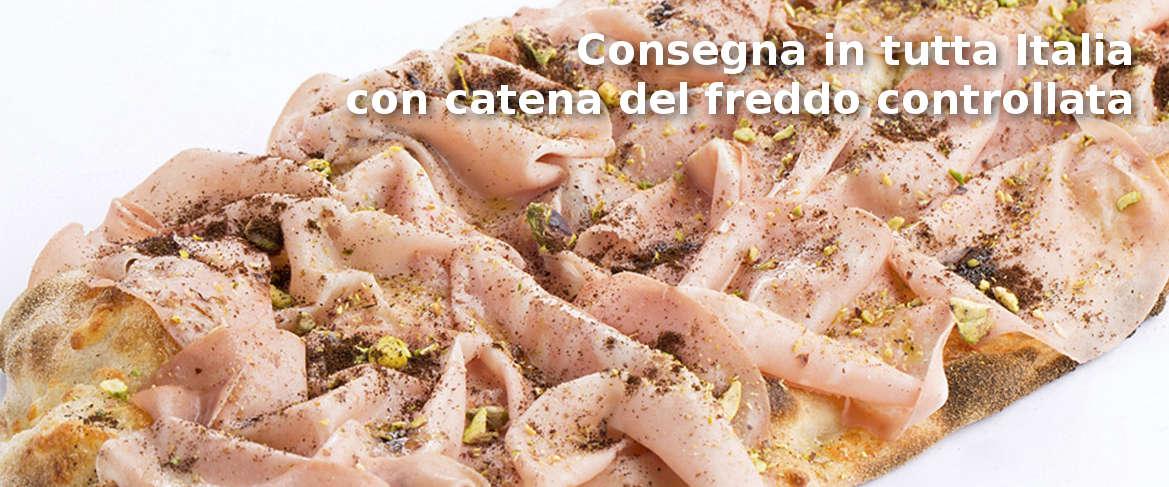 Consegna Pinsa Romana in tutta Italia